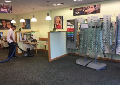 Opticians Carpet Cleaning Commercial Cleaning