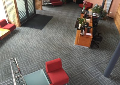 Reception Area Commercial Carpet Cleaning
